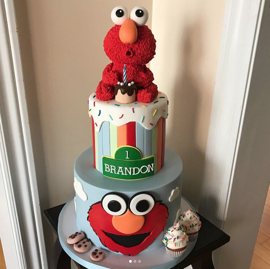 11 Adorable Sesame Street Birthday Cakes Find Your Cake