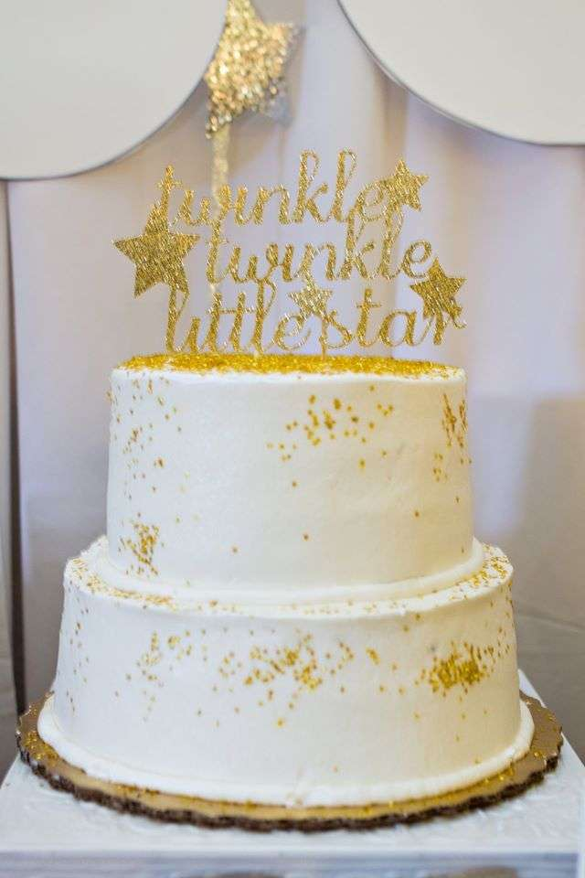 Twinkle Twinkle Little Star Baby Boy Shower Cakes Find Your Cake