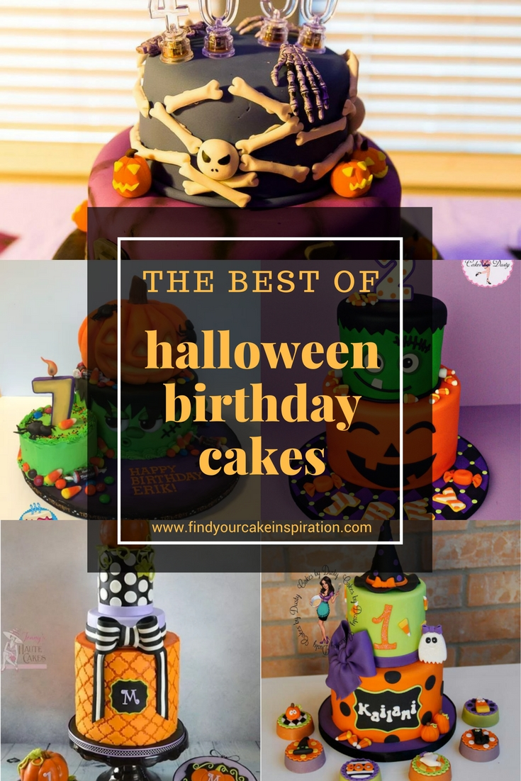 Halloween Birthday Cakes Archives - Find Your Cake Inspiration