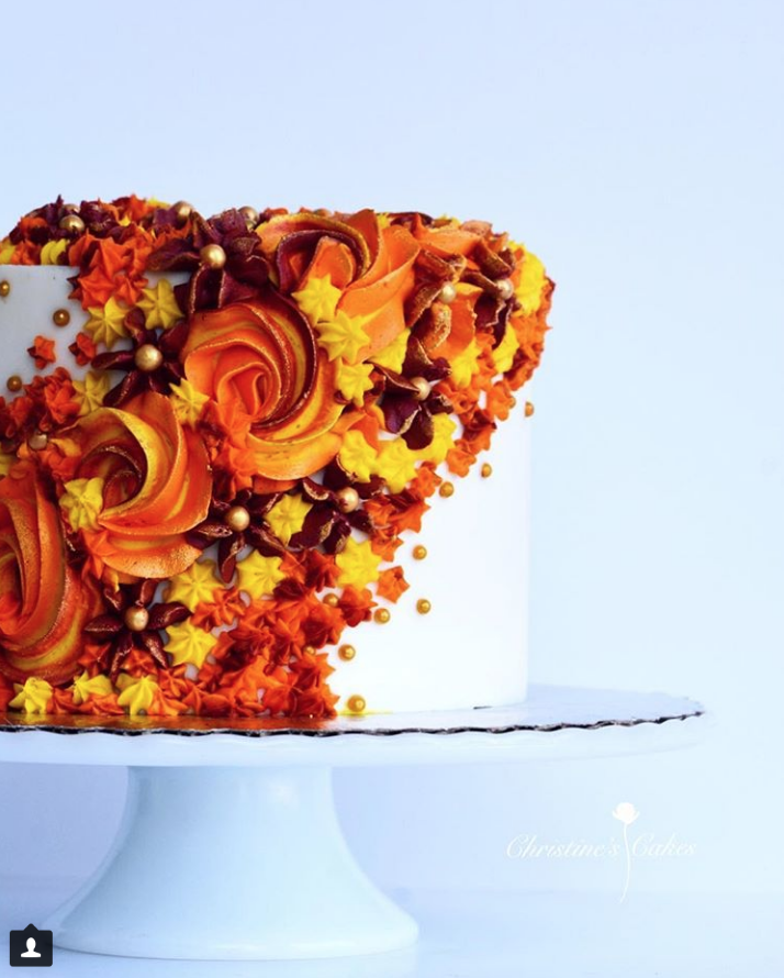 Gorgeous Thanksgiving Cake
