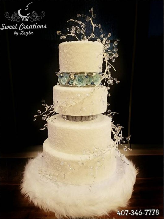 Winter Wonderland Wedding Cakes - Find Your Cake Inspiration