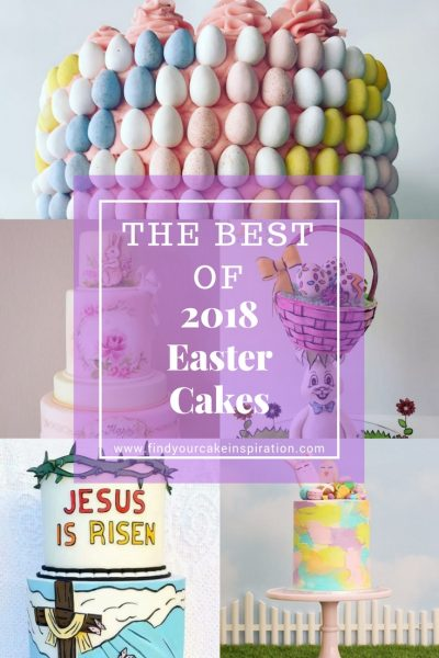 2018 Easter Cakes