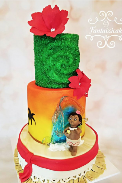 Birds, Moana, and More Cake Submission