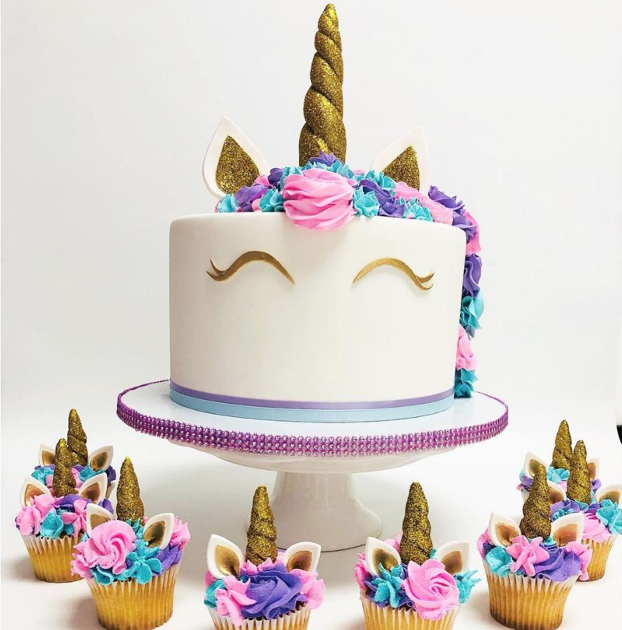 Glitter Unicorn Cake