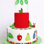 The Very Hungry Caterpillar Birthday Cakes Inspiration