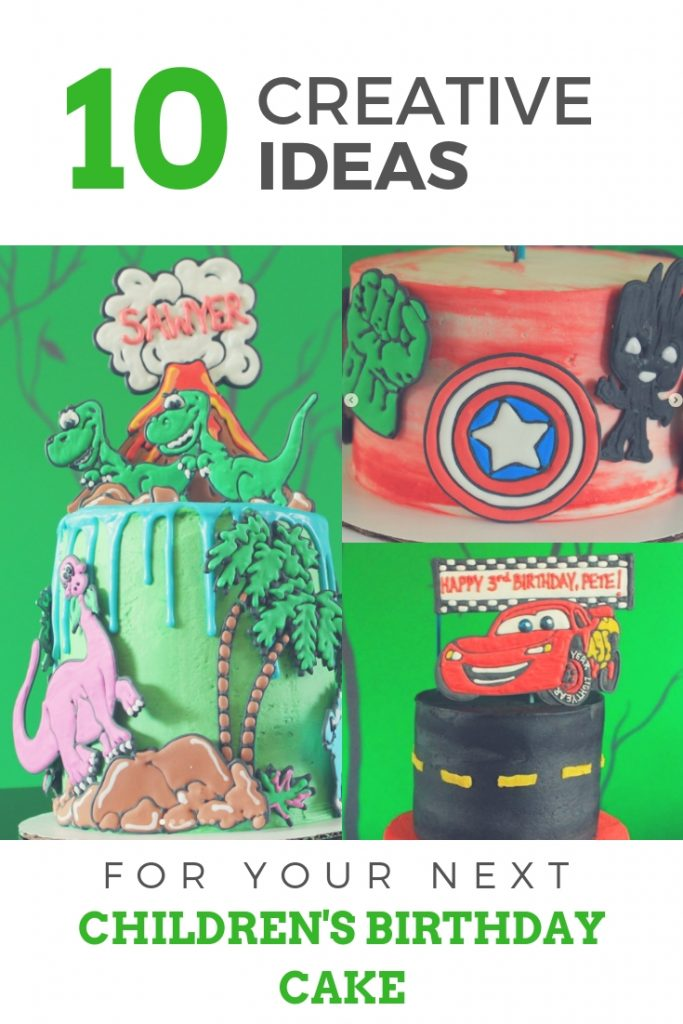 10 Creative Cakes by Piped and Frosted