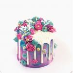 Mermaid Swirl Cake