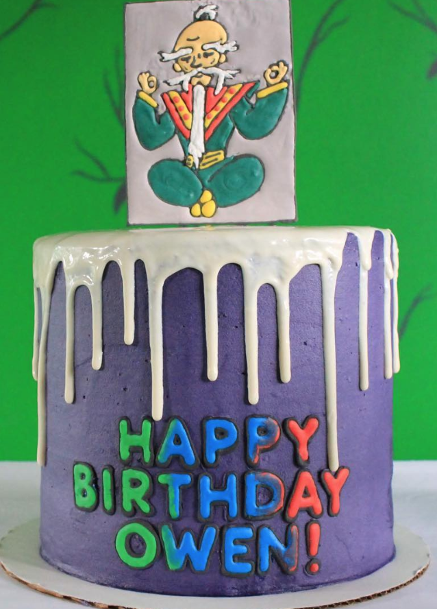 PJ Mask's Mr. Fang Birthday Cake