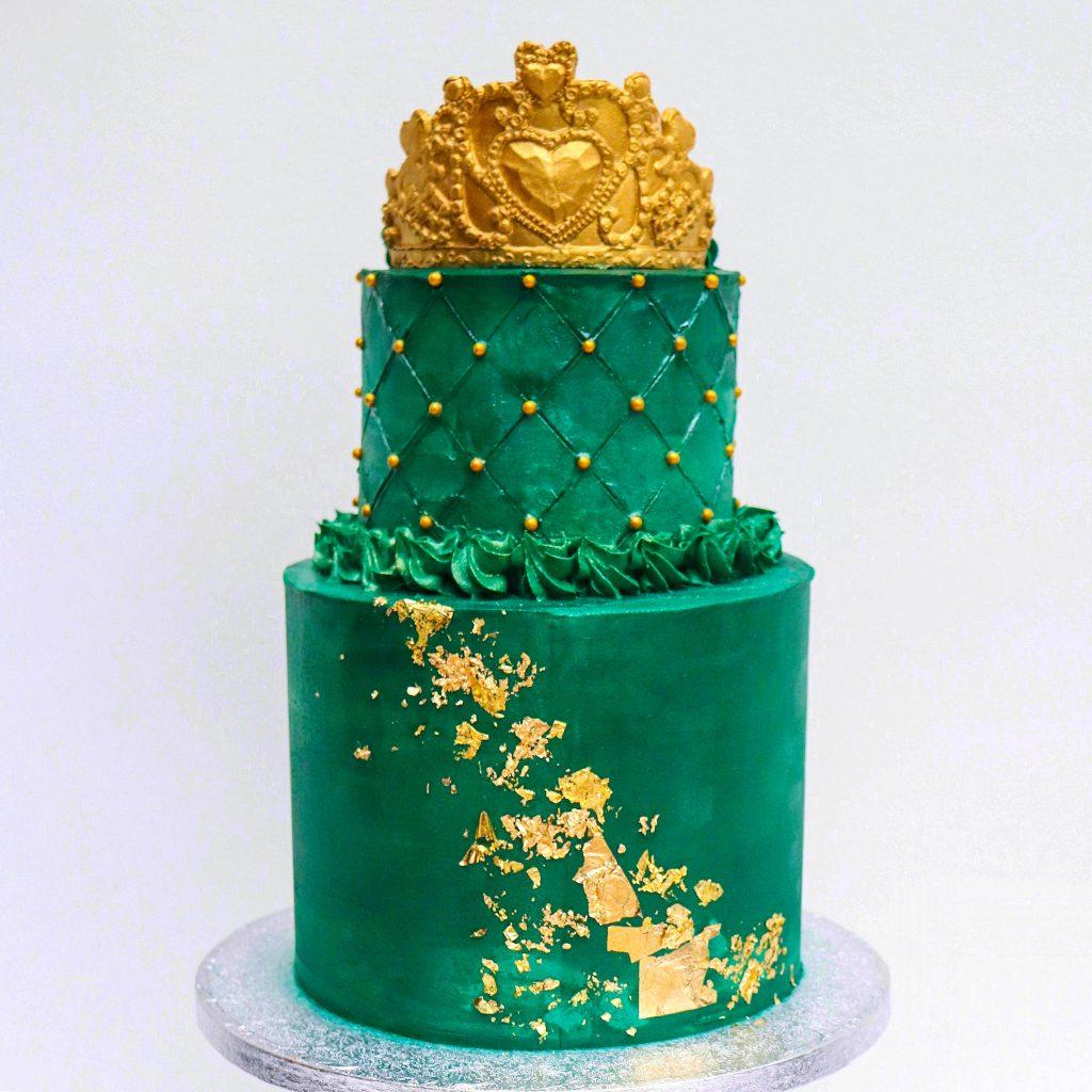 Emerald Queen Cake