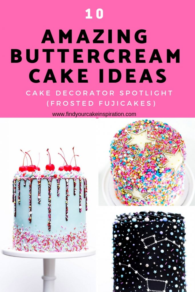 10 Amazing Buttercream Cake Ideas