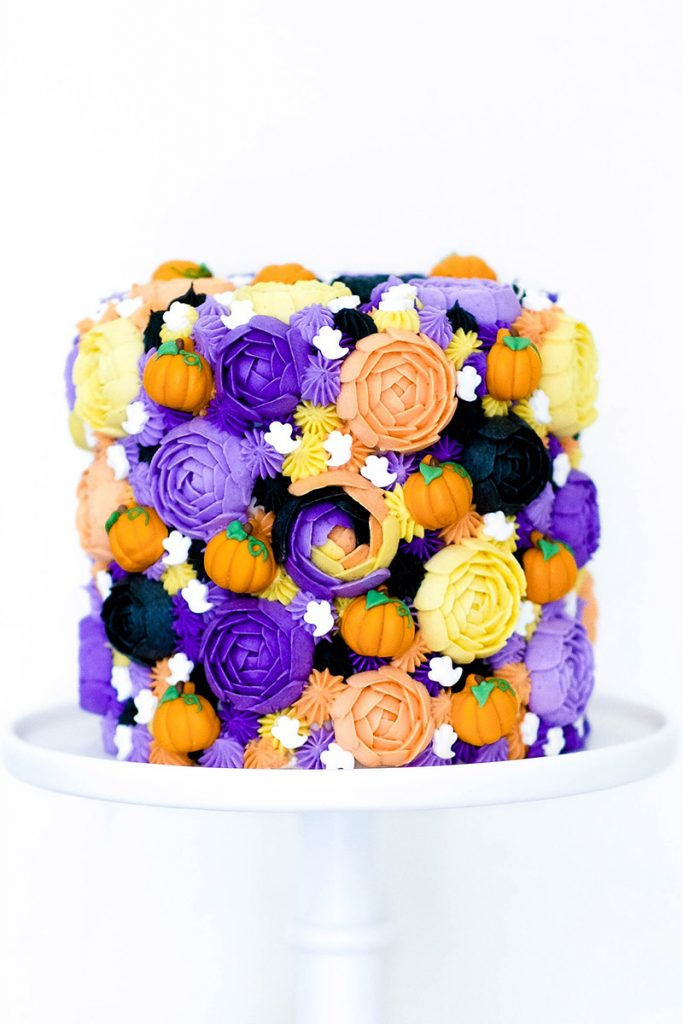 Halloween Buttercream Cake