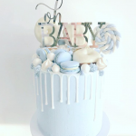 15 Gorgeous Boy Baby Shower Cakes