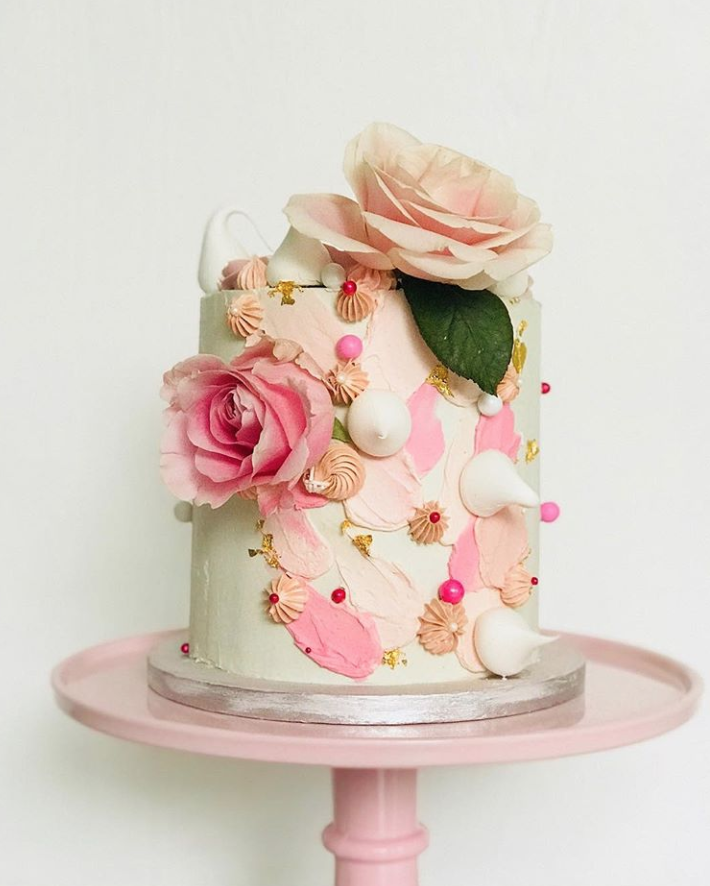 This image has an empty alt attribute; its file name is Brushstroke-Christening-Cake.png