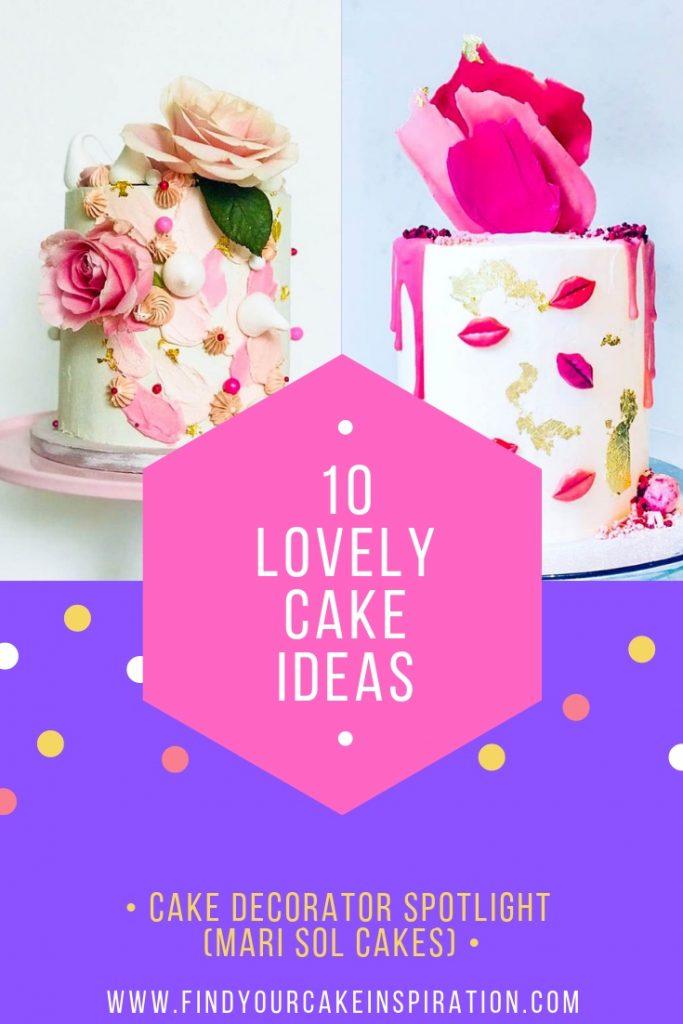 Mari Sol Cakes Cake Decorator Spotlight