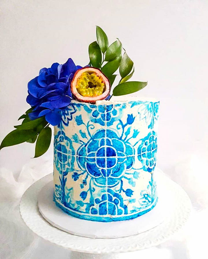 Portuguese Inspired Cake