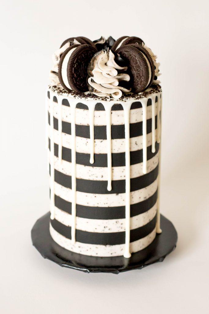 Black & White Oreo Cake