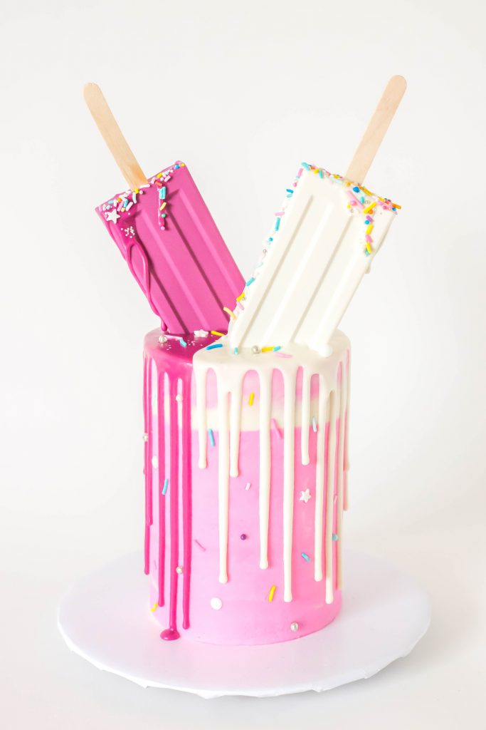 Popsicle Drip Cake