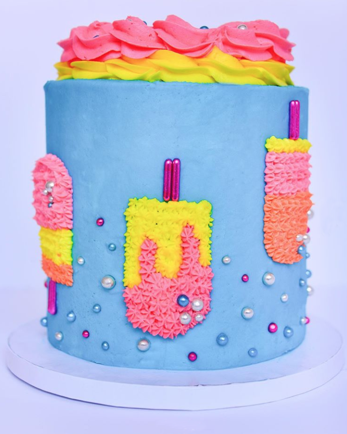 Popsicle Cake | www.findyourcakeinspiration.com