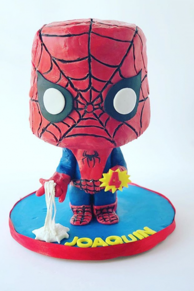 Stupendous Spider Man Birthday Cake Archives Find Your Cake Inspiration Personalised Birthday Cards Beptaeletsinfo