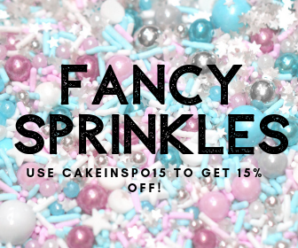 Fancy Sprinkles Code: CakeInspo15