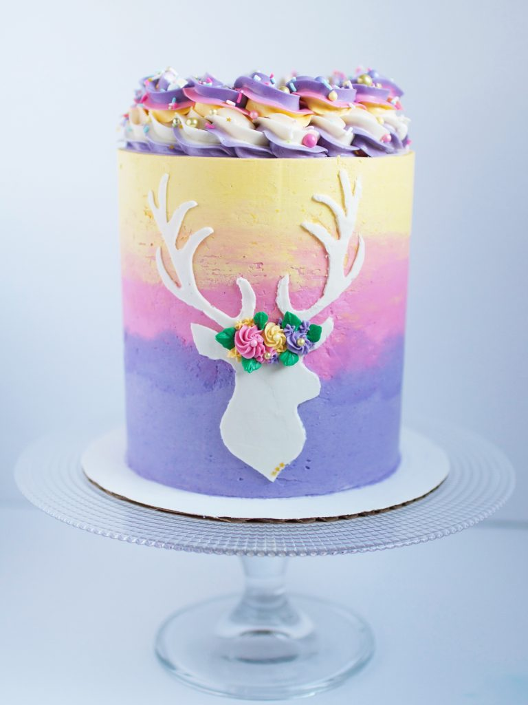 Beautiful Deer Cake