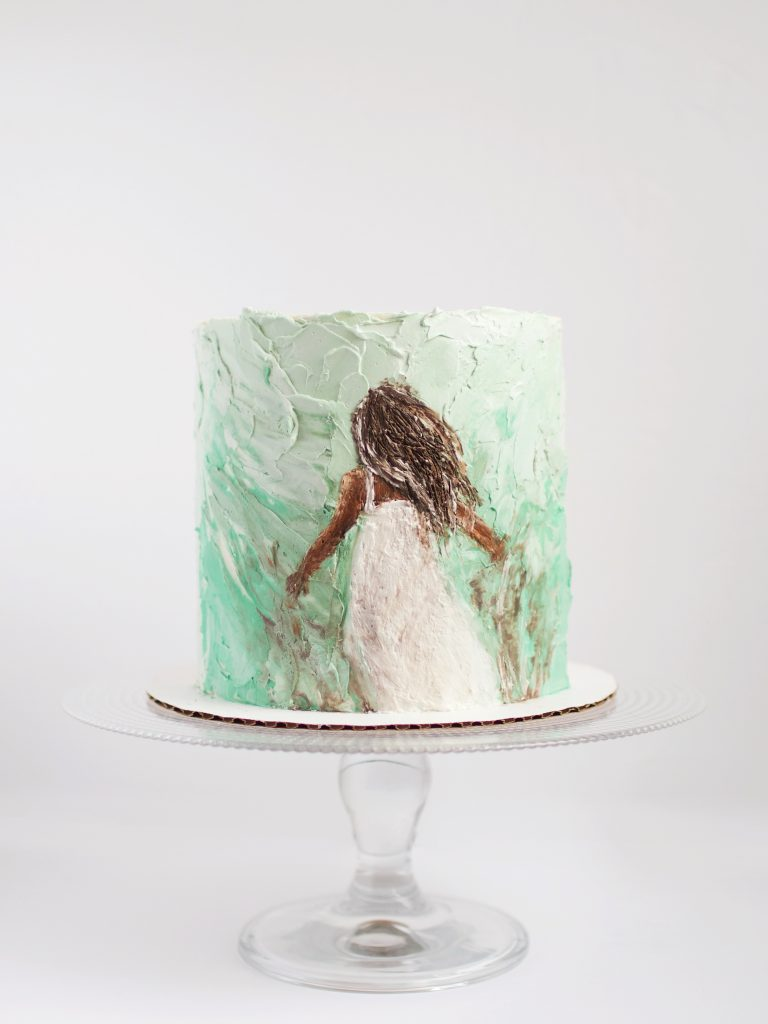 Gorgeous Nature Inspired Cake