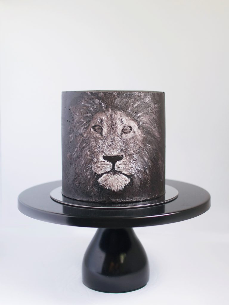 Lion Buttercream Cake