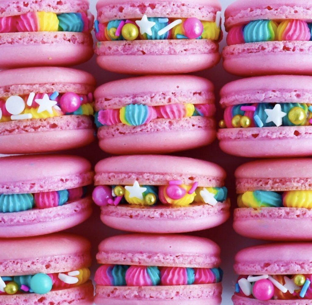 Spring Themed Macarons