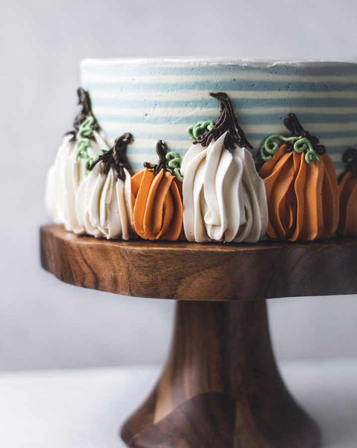 Easy 1M Buttercream Pumpkins