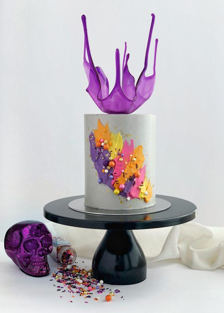 Spooky Szn Halloween Cake