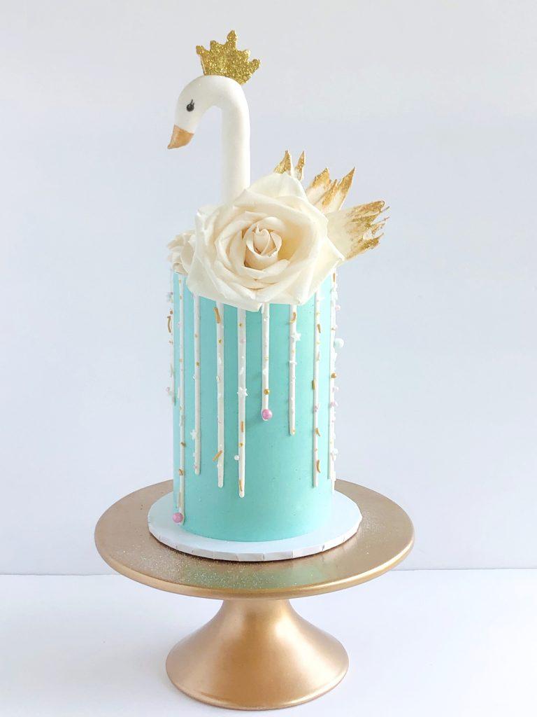 Swan Queen Cake