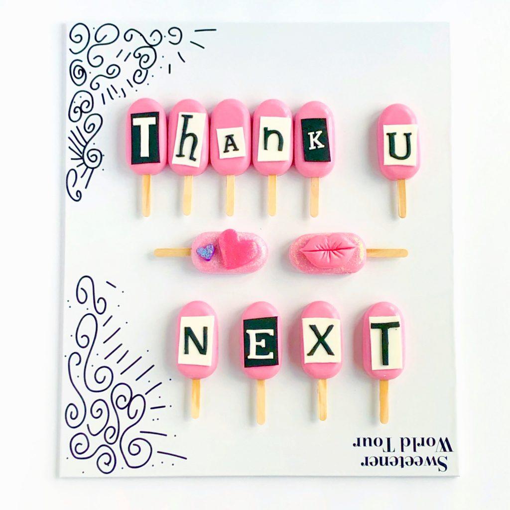 Thank U, Next Cakesicles