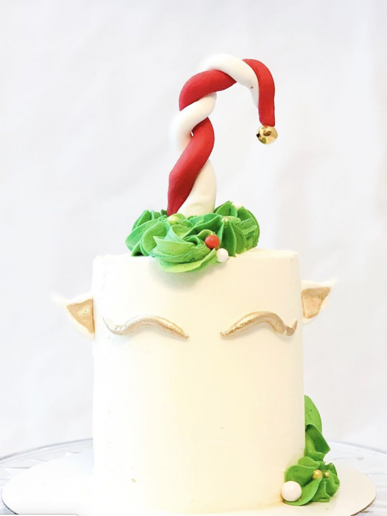 Elf Unicorn Cake
