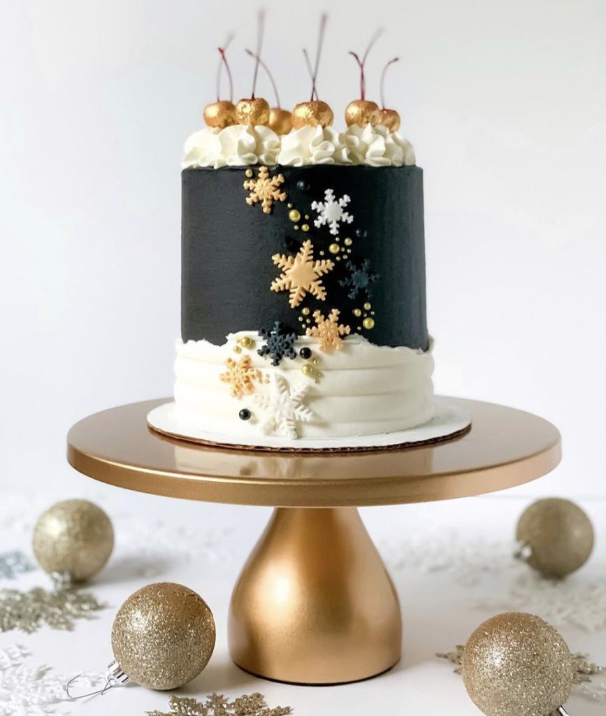 Glam Winter Cake