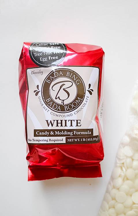 Bada Bing Bada Boom Candy & Molding Compund White Chocolate