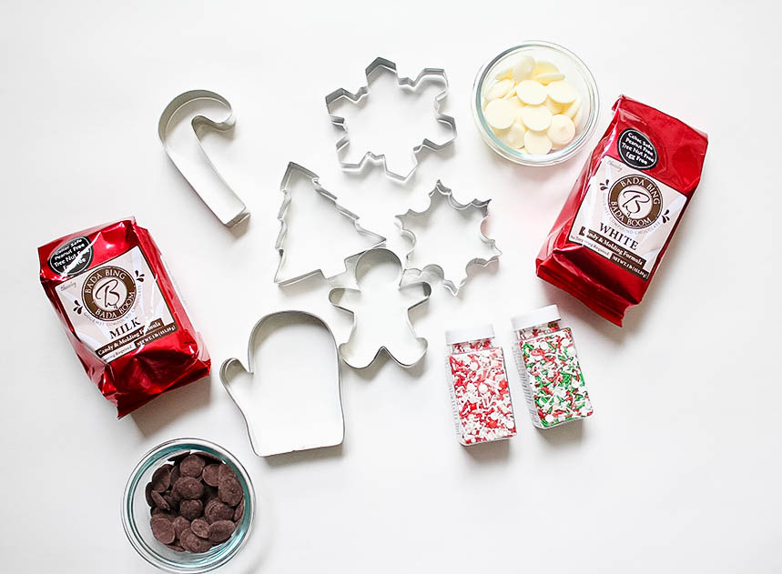 Chocolates, Cookie Cutters, and Sprinkles