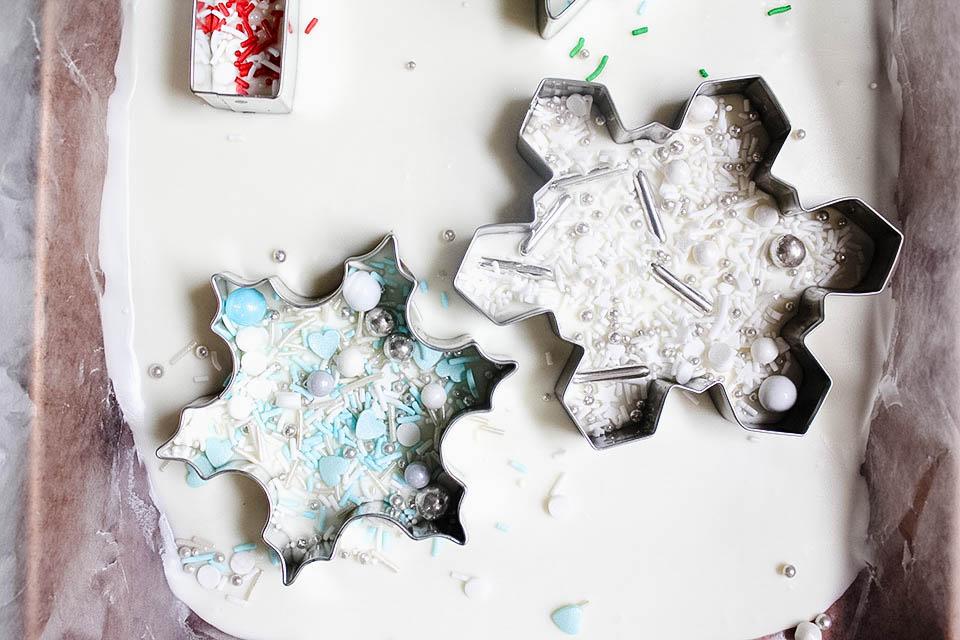 Snowflakes sprinkles