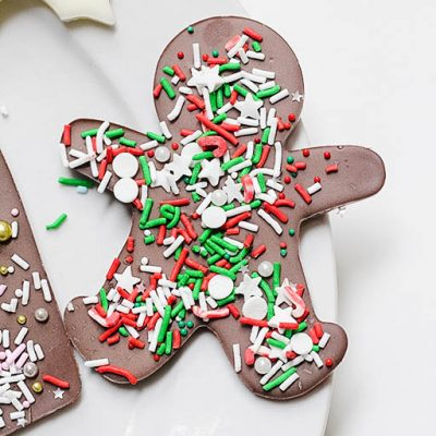 Chocolate Gingerbread Bark