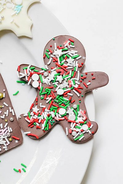 Chocolate Gingerbread Bark