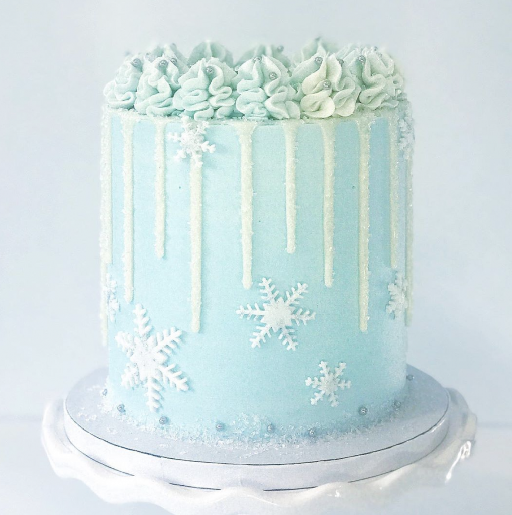 Wintry Mix Cake