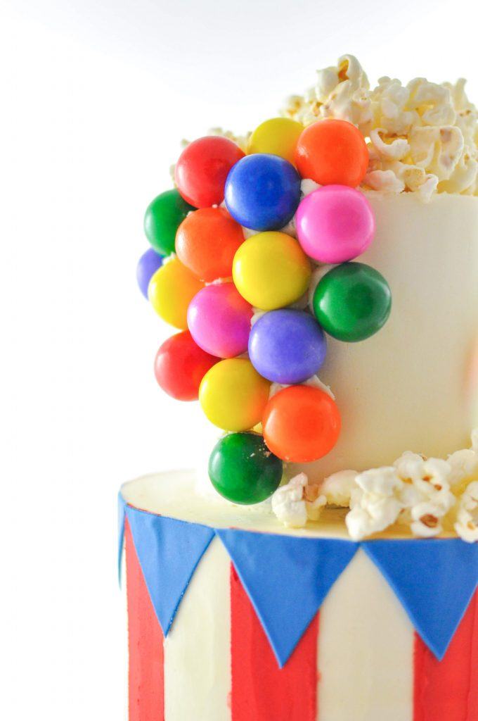 Bubble Gum Carnival Cake