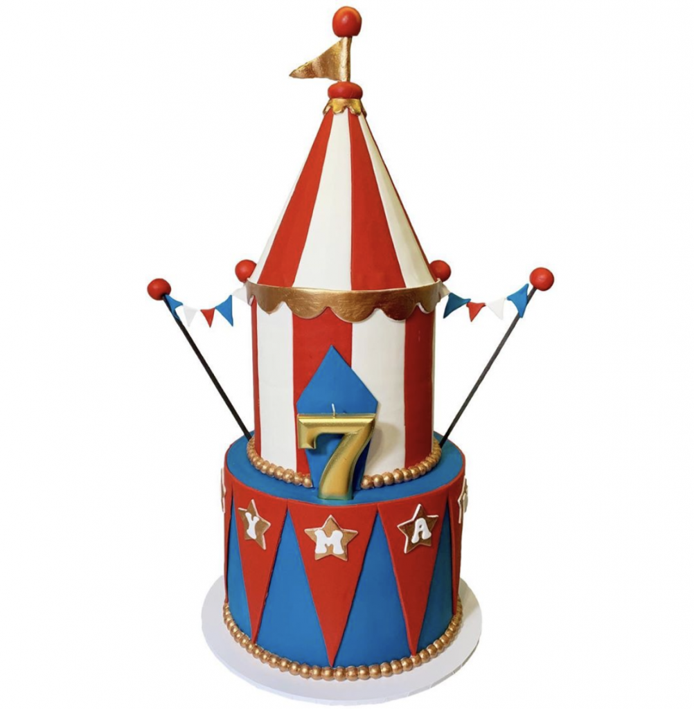 Swell 15 Marvelous Carnival Cakes Find Your Cake Inspiration Personalised Birthday Cards Bromeletsinfo