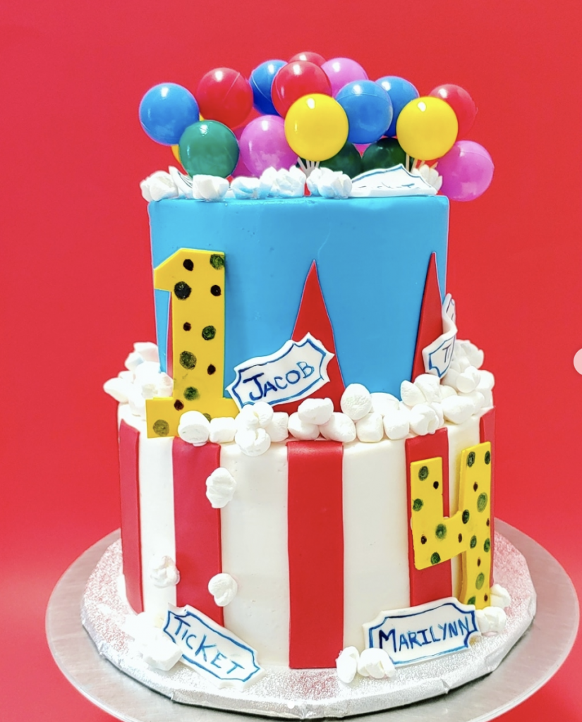 Excellent 15 Marvelous Carnival Cakes Find Your Cake Inspiration Personalised Birthday Cards Paralily Jamesorg