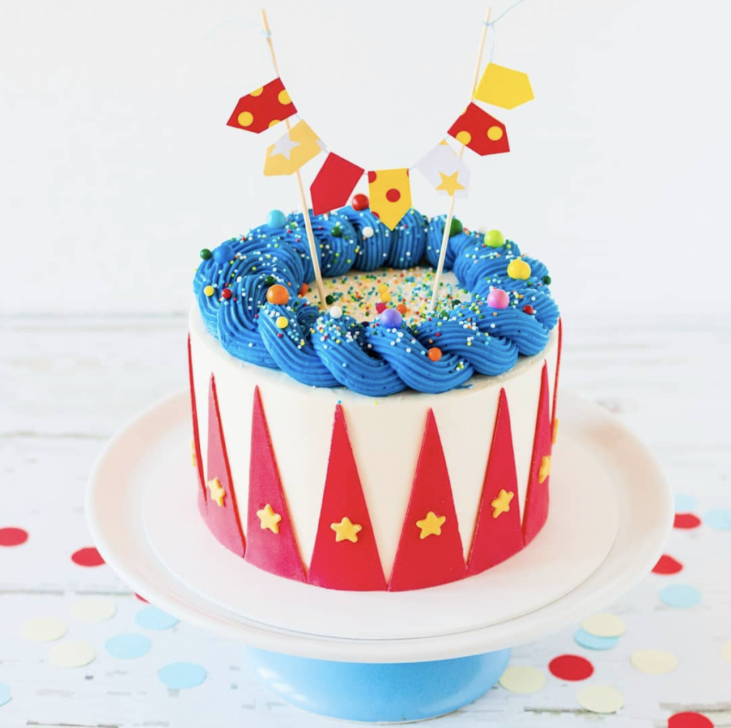 Tremendous 15 Marvelous Carnival Cakes Find Your Cake Inspiration Personalised Birthday Cards Paralily Jamesorg