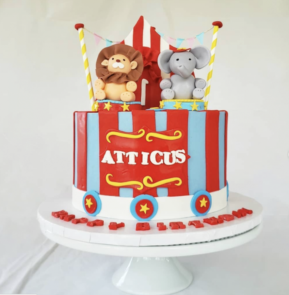 Party Animal Carnival Cake