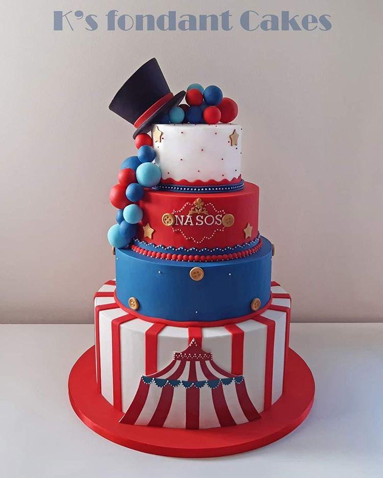 Spectacular Carnival Cake