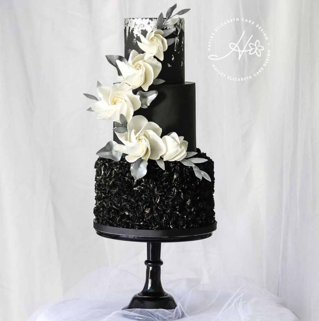 Gorgeous Cascading Wedding Cake