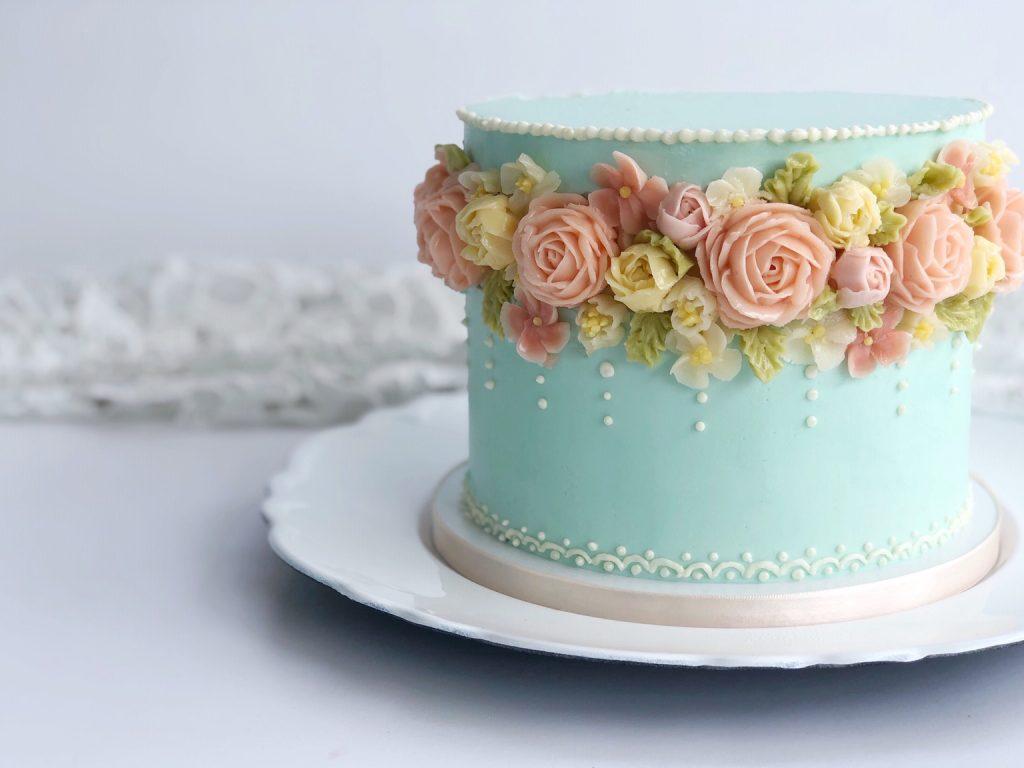 Lovely Floral Cake