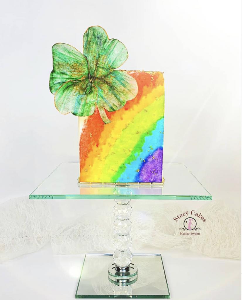Irish Rainbow Cake