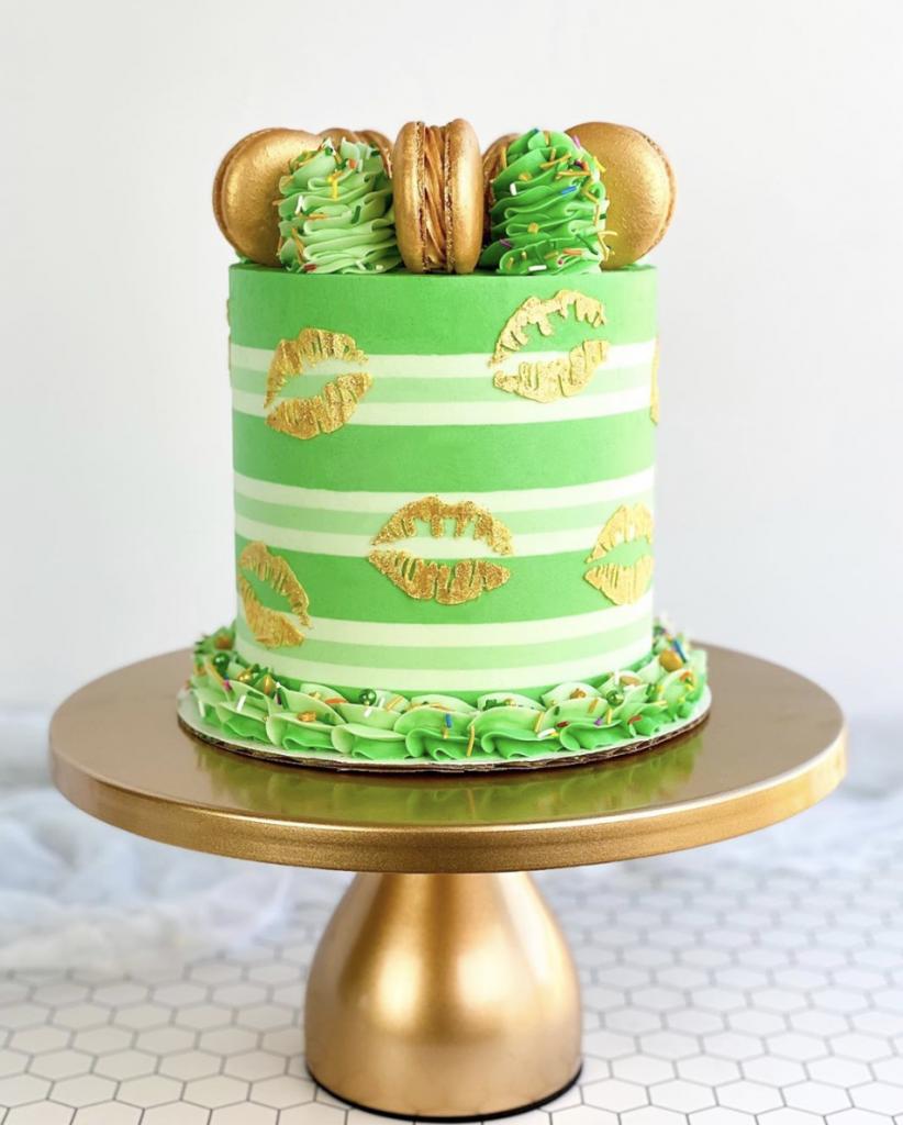 Kiss Me I'm Irish Cake